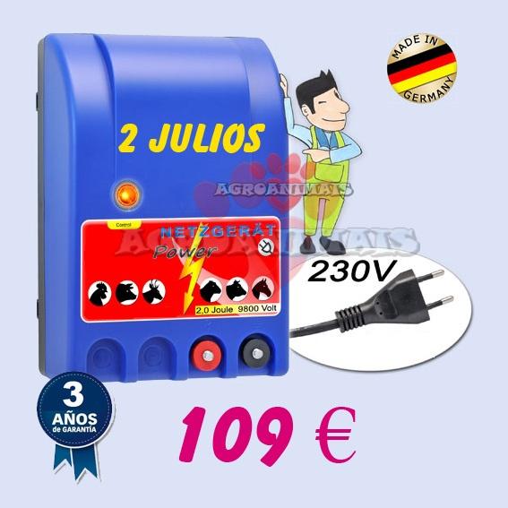 PASTORES ELECTRICOS A 230V