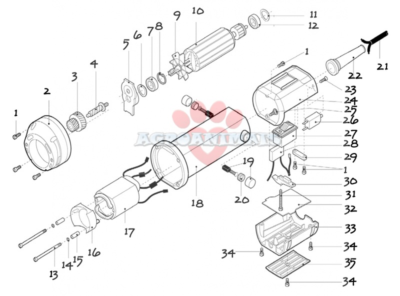 esquiladora-neilsen-703-repuestos-cuerpo-motor/