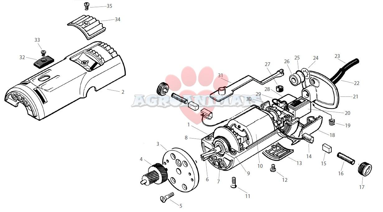 Repuestos Lister Laser Cuerpo Motor